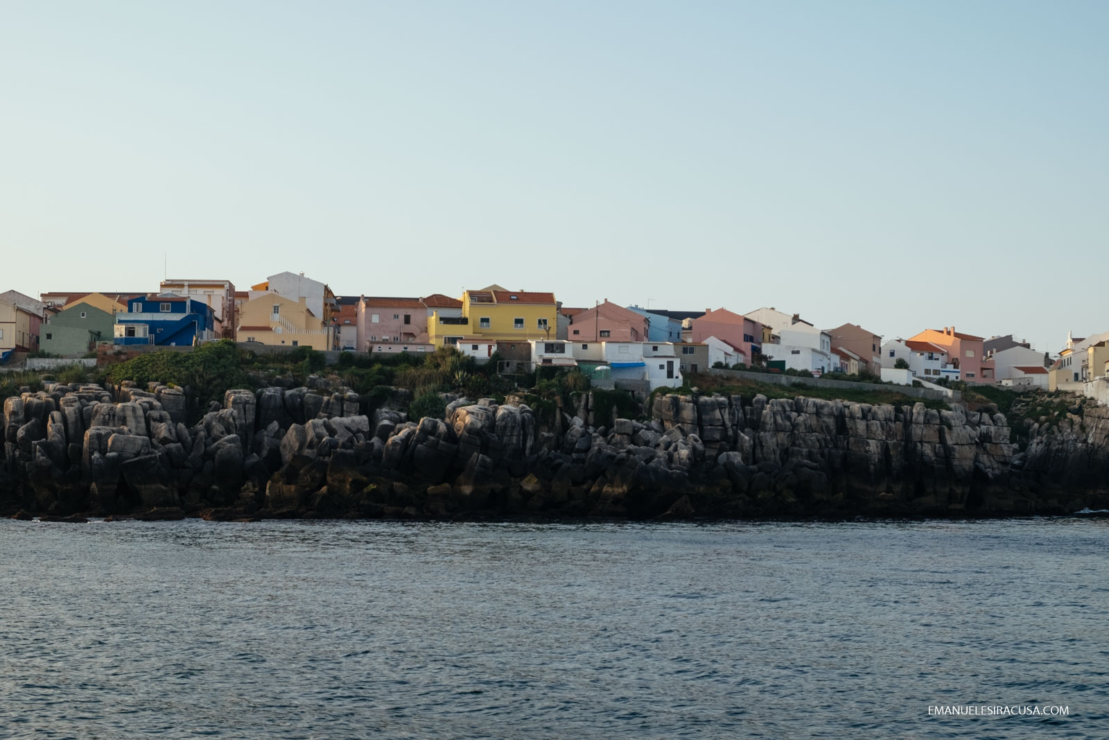 Emanuele Siracusa - Centro de Portugal - Oeste - Peniche from the sea-3